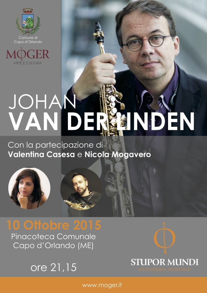 Locandina Concerto Van der Linden